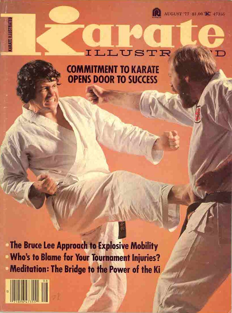 08/77 Karate Illustrated