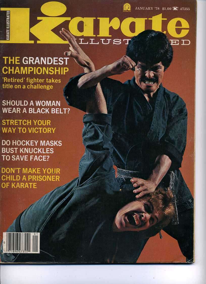 01/78 Karate Illustrated