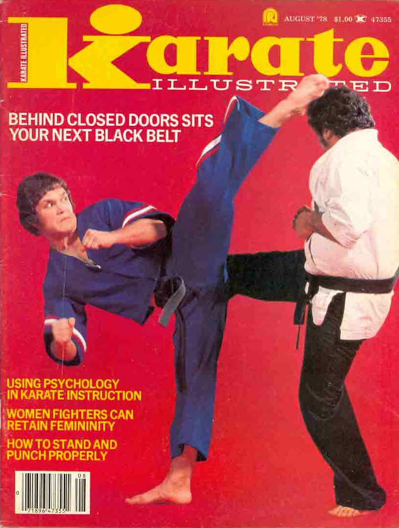 08/78 Karate Illustrated