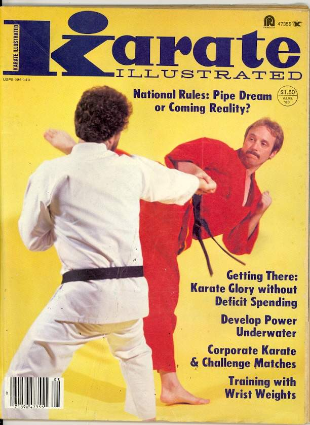 08/80 Karate Illustrated