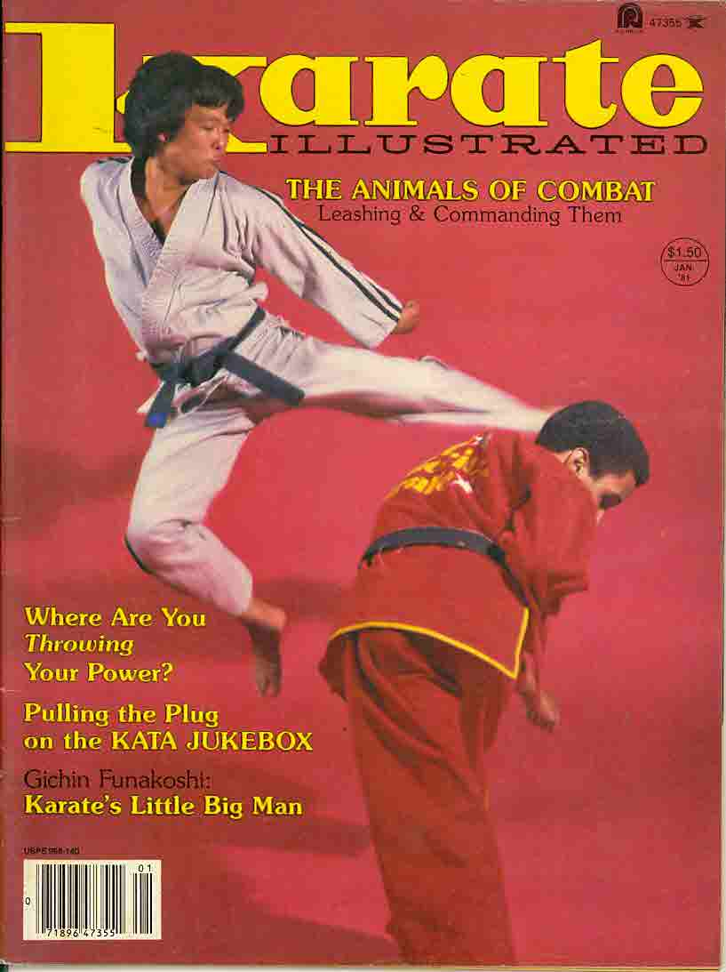 01/81 Karate Illustrated