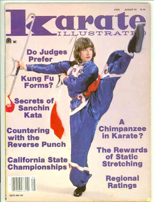 08/81 Karate Illustrated