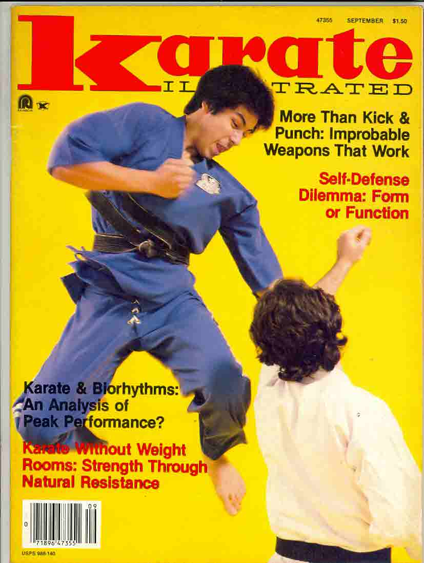 09/81 Karate Illustrated