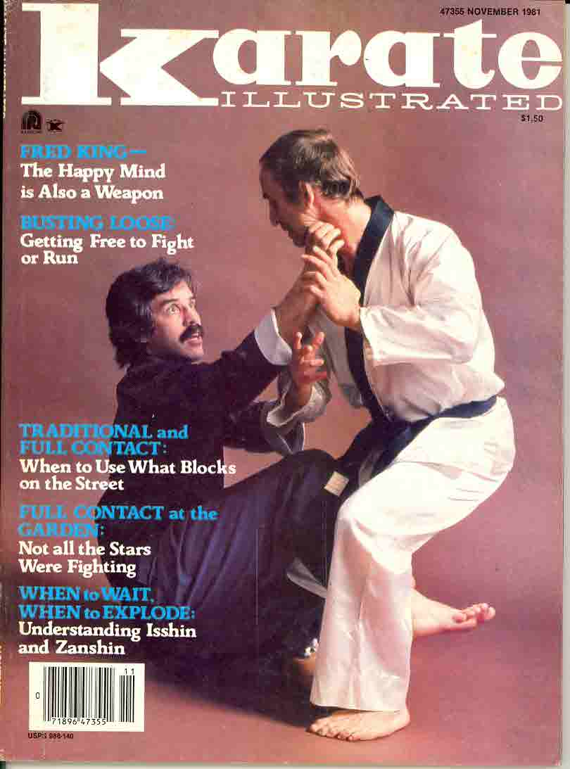 11/81 Karate Illustrated