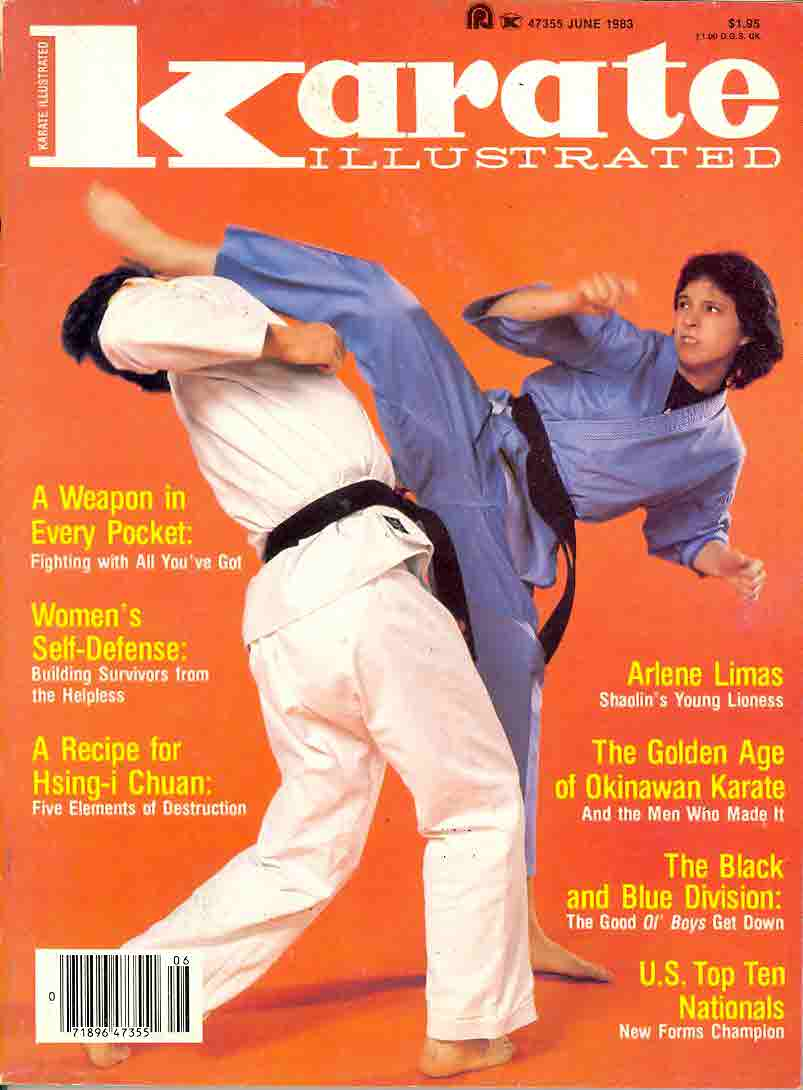 06/83 Karate Illustrated