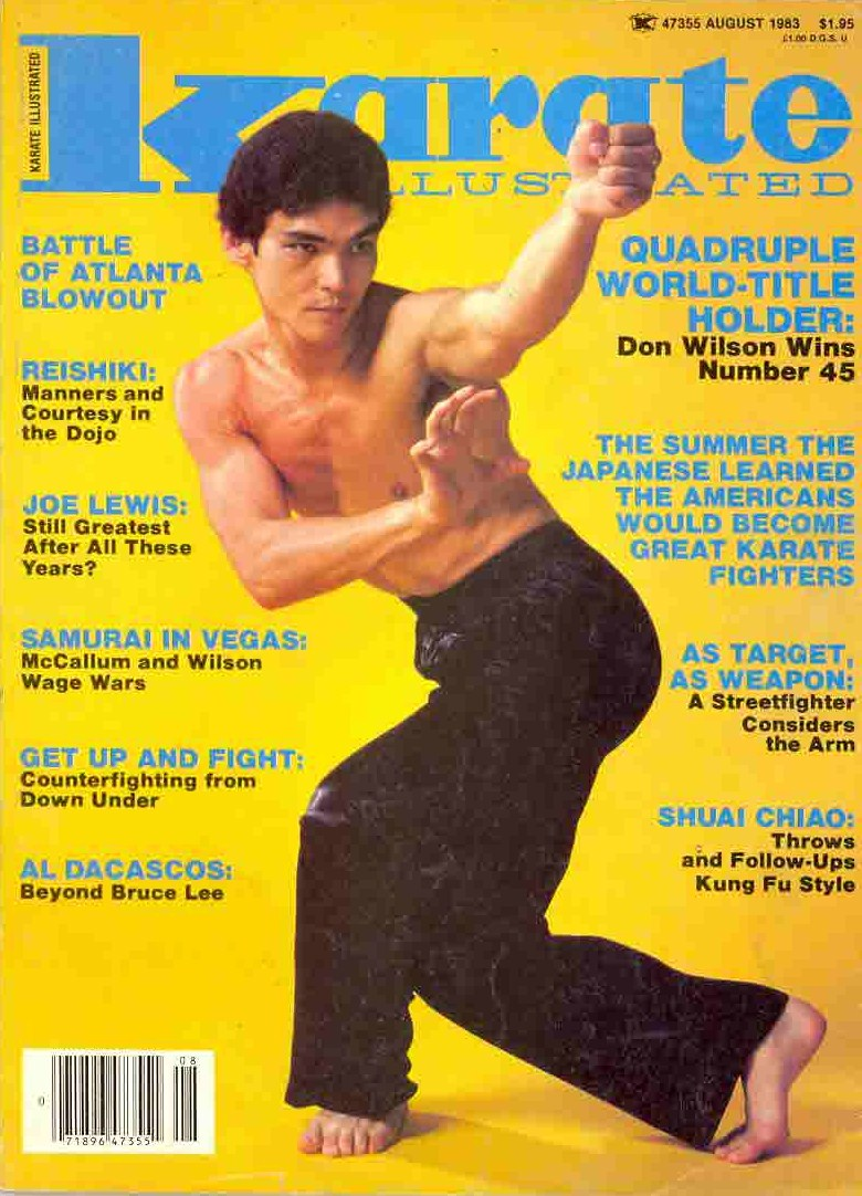 08/83 Karate Illustrated
