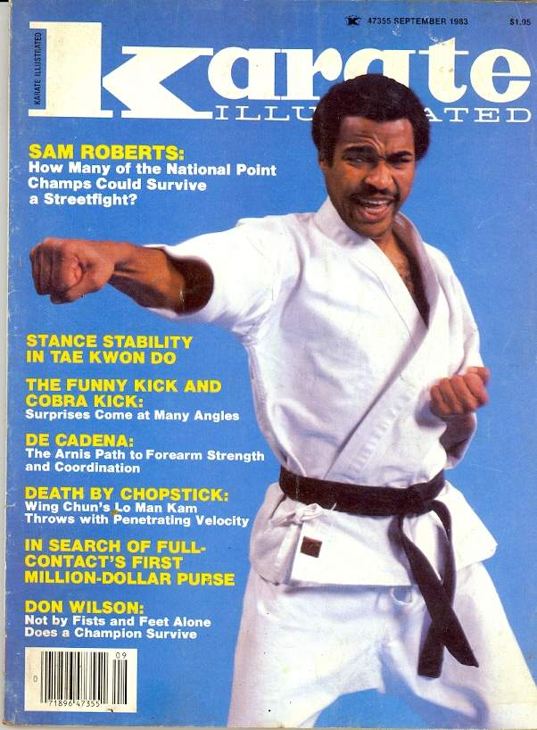 09/83 Karate Illustrated