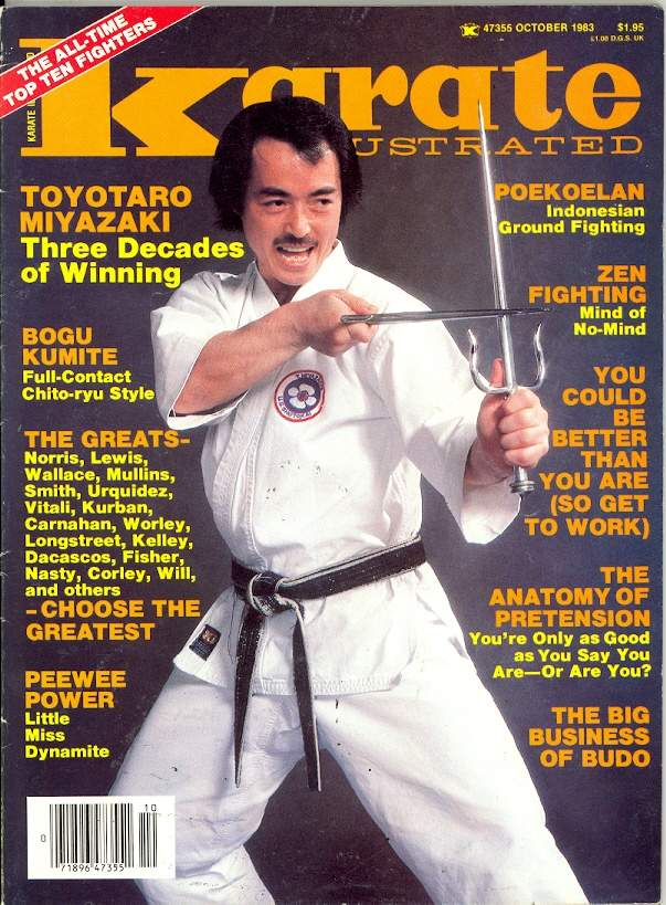 10/83 Karate Illustrated