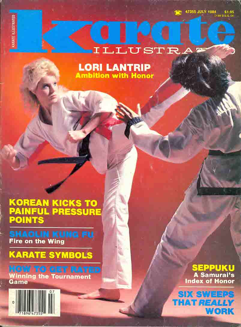 07/84 Karate Illustrated