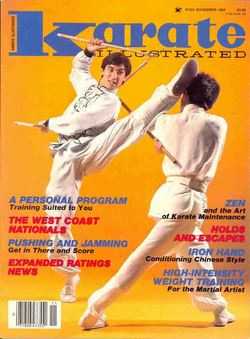 11/84 Karate Illustrated
