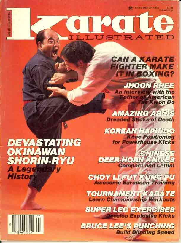 03/85 Karate Illustrated