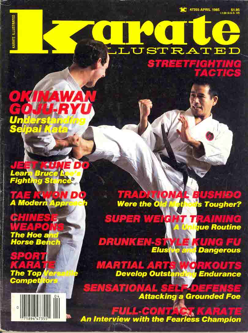 04/85 Karate Illustrated