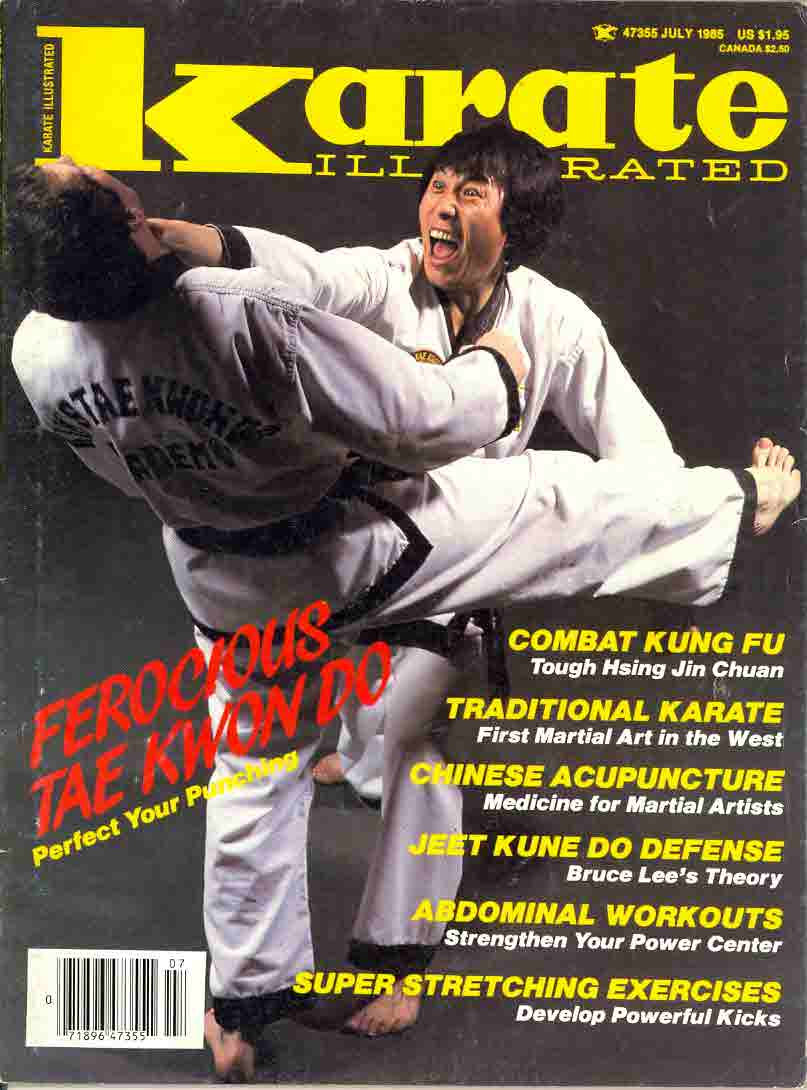 07/85 Karate Illustrated