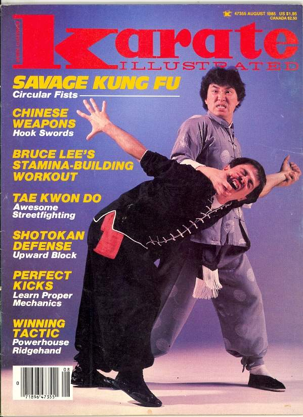 08/85 Karate Illustrated
