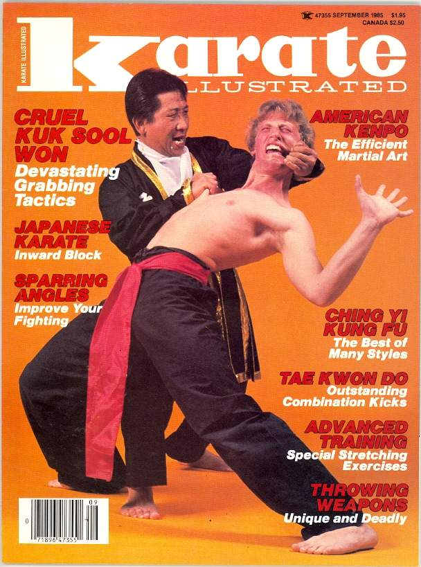 09/85 Karate Illustrated