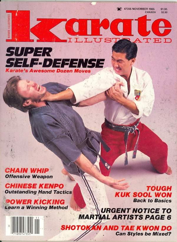 11/85 Karate Illustrated
