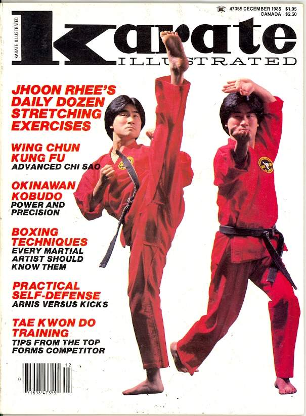 12/85 Karate Illustrated