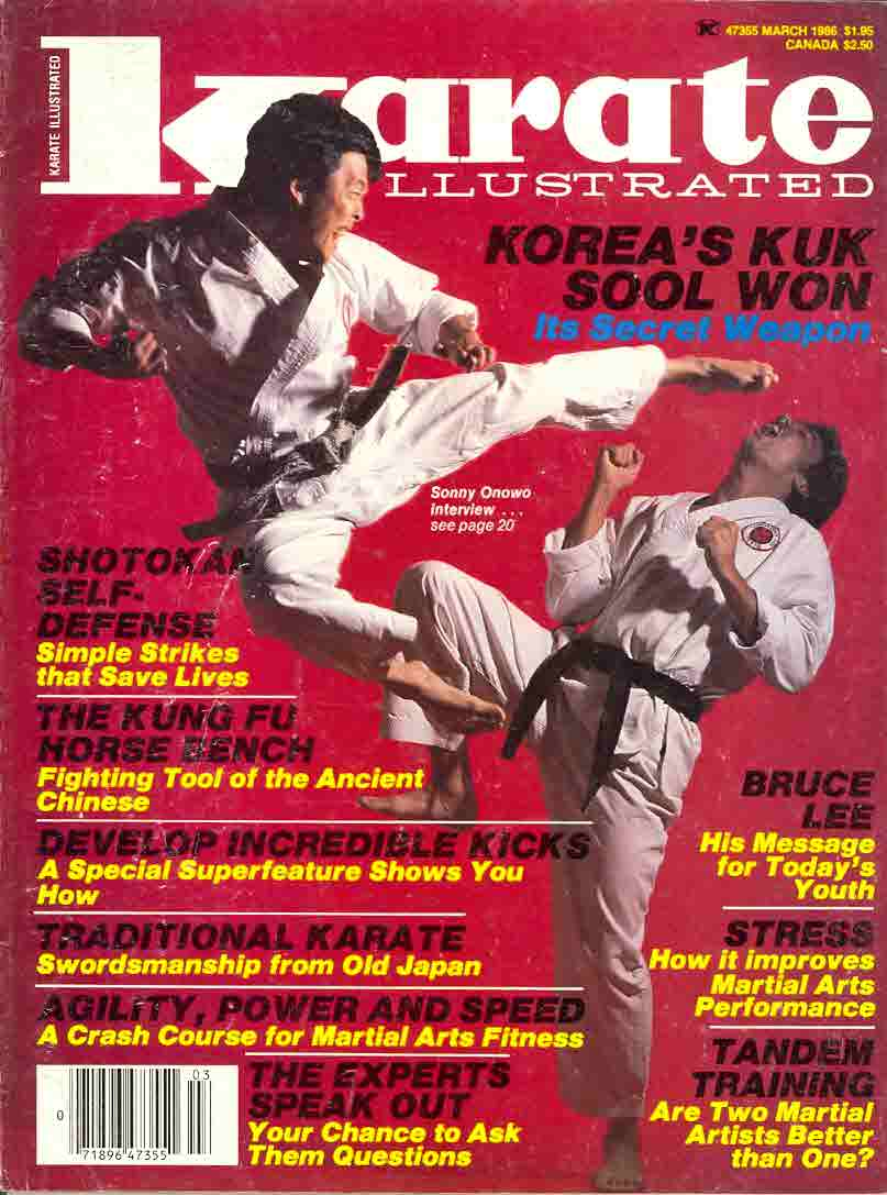 03/86 Karate Illustrated