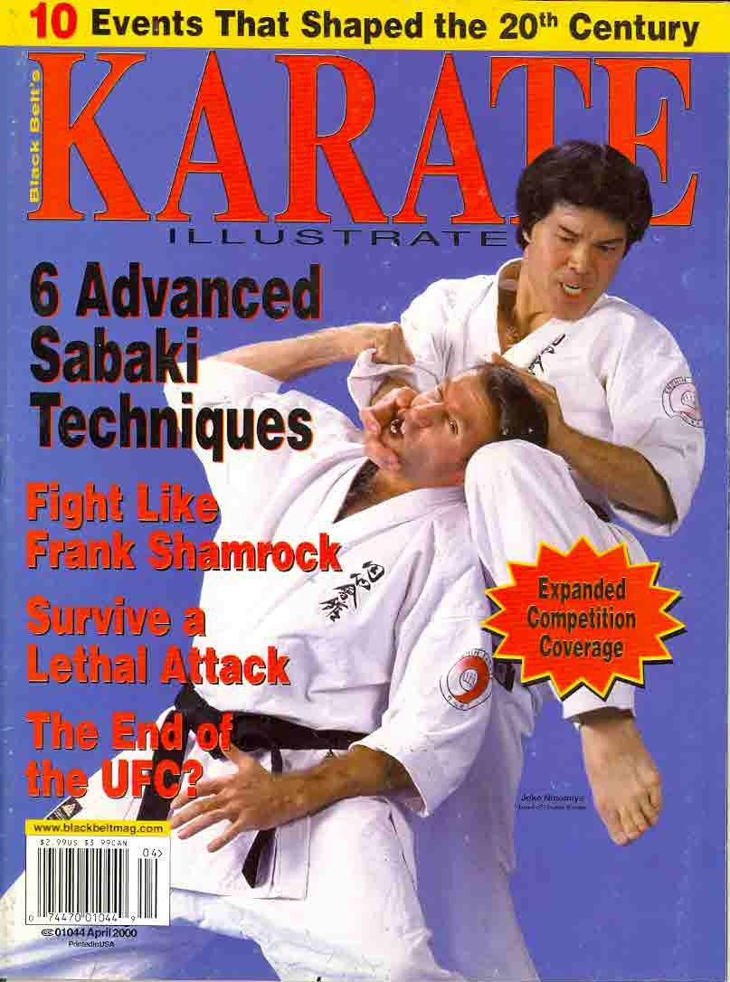 04/00 Karate Illustrated