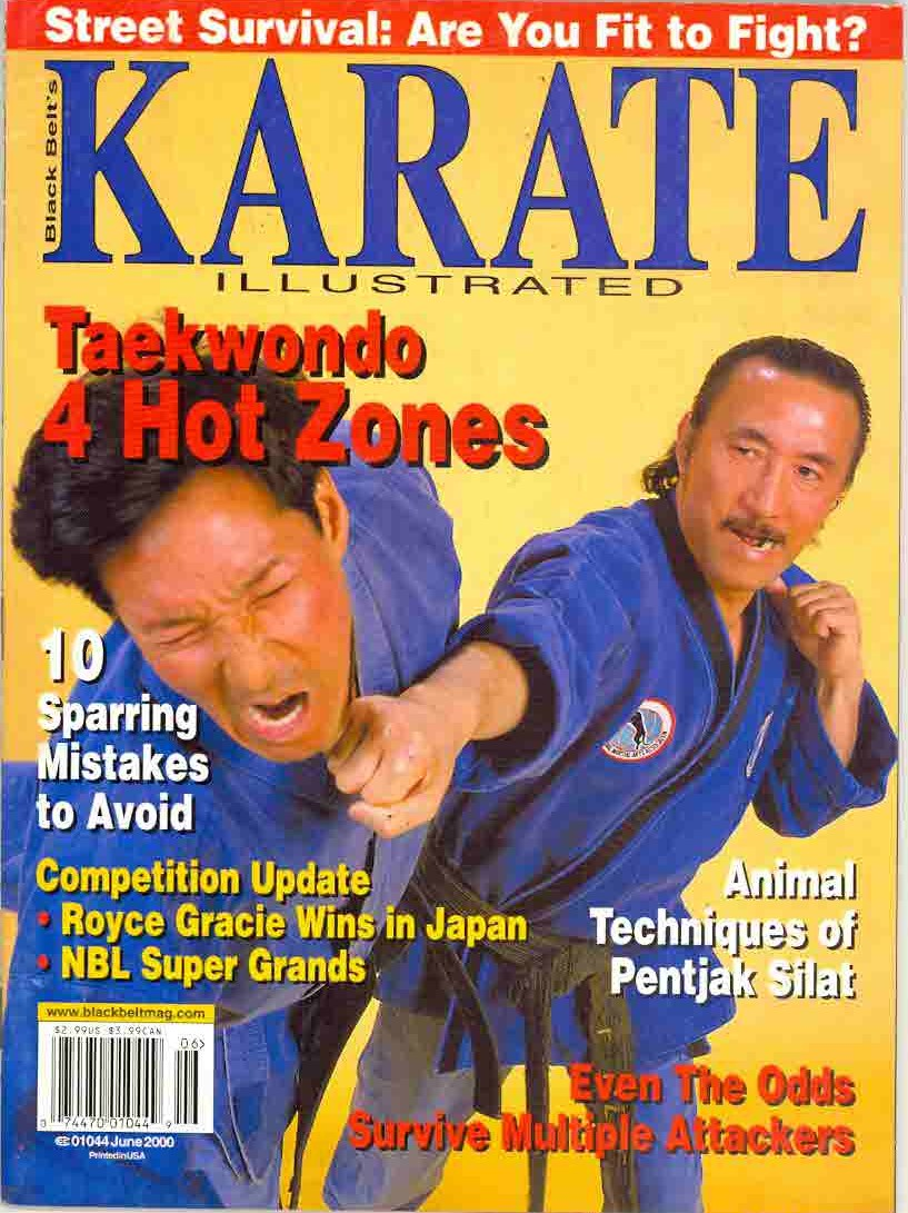 06/00 Karate Illustrated