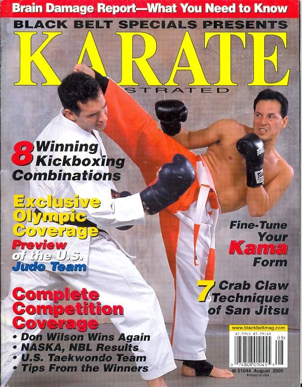 08/00 Karate Illustrated