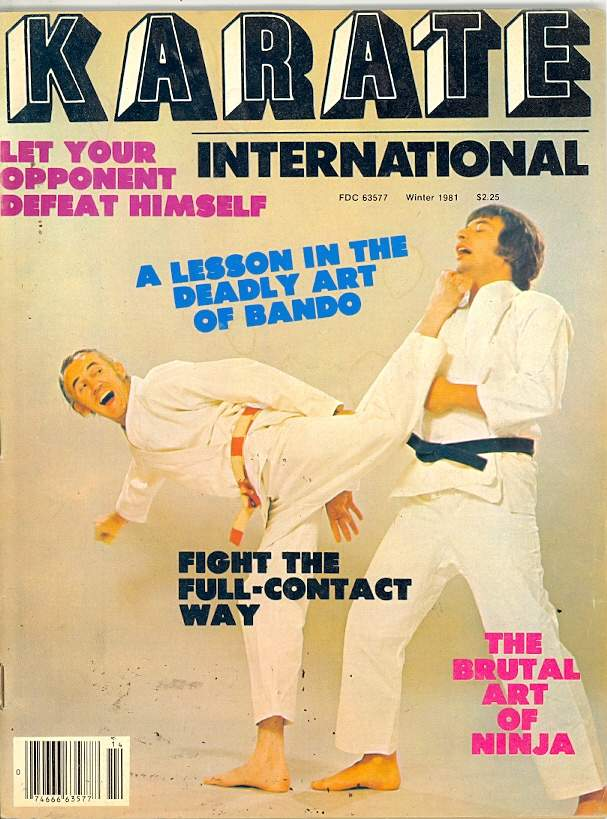Winter 1981 Karate International