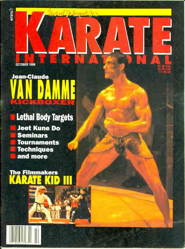 10/89 Karate International