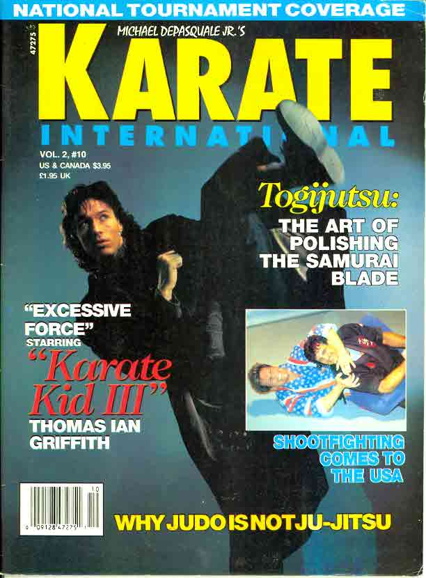 10/92 Karate International