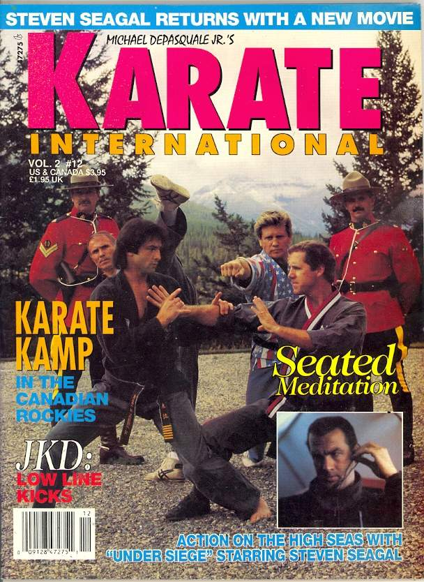 12/92 Karate International