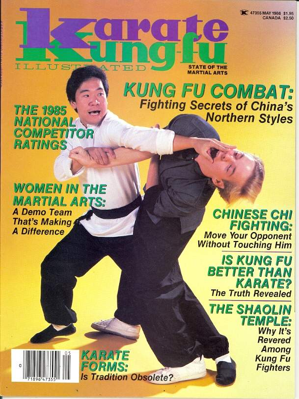 05/86 Karate Kung Fu Illustrated
