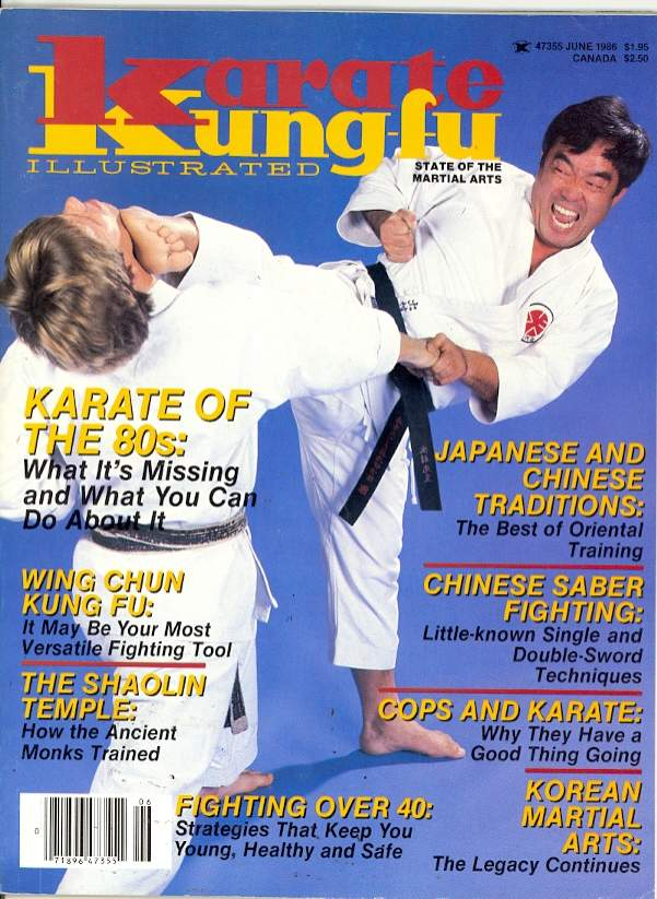06/86 Karate Kung Fu Illustrated