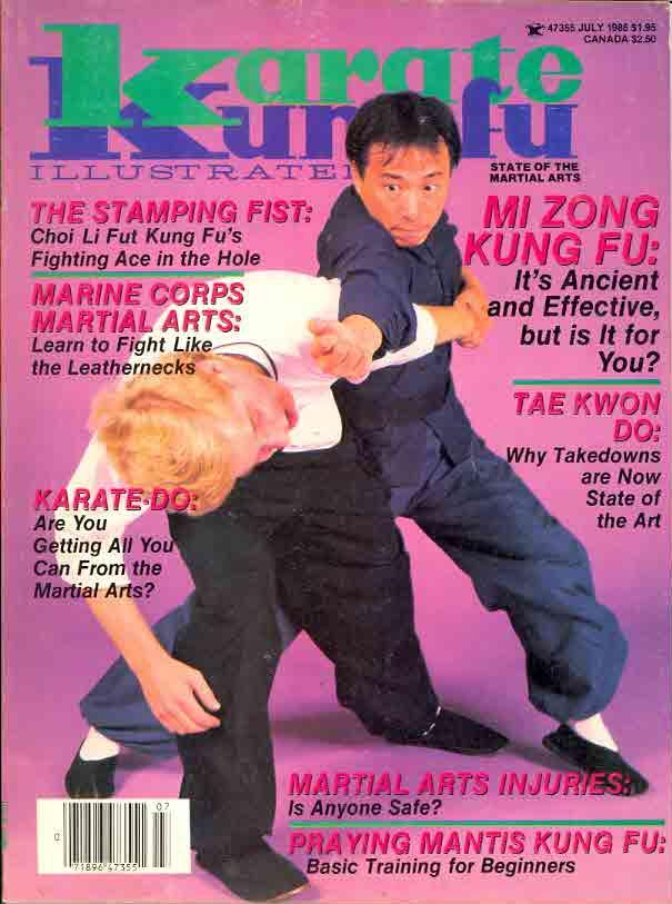 07/86 Karate Kung Fu Illustrated