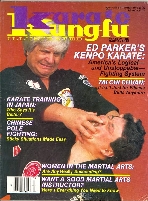 09/86 Karate Kung Fu Illustrated