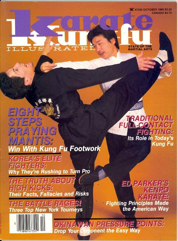 10/86 Karate Kung Fu Illustrated