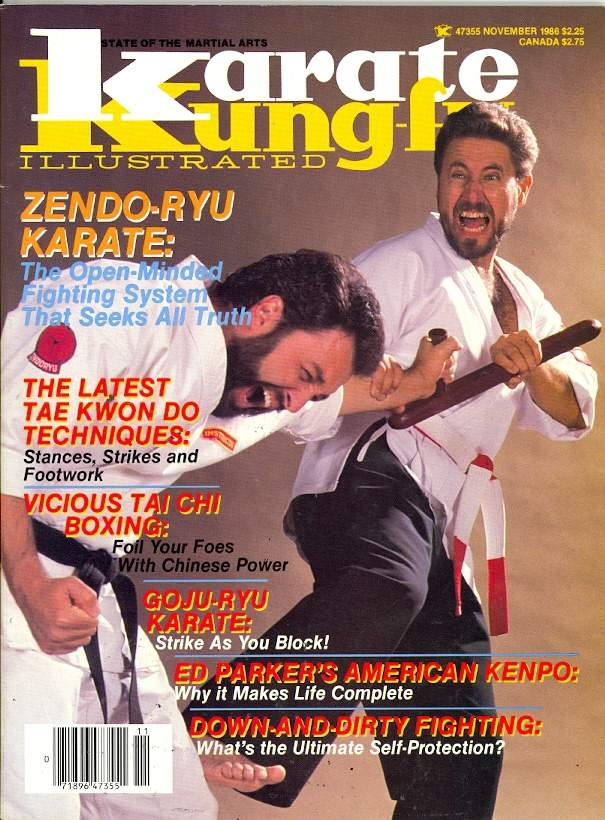 11/86 Karate Kung Fu Illustrated
