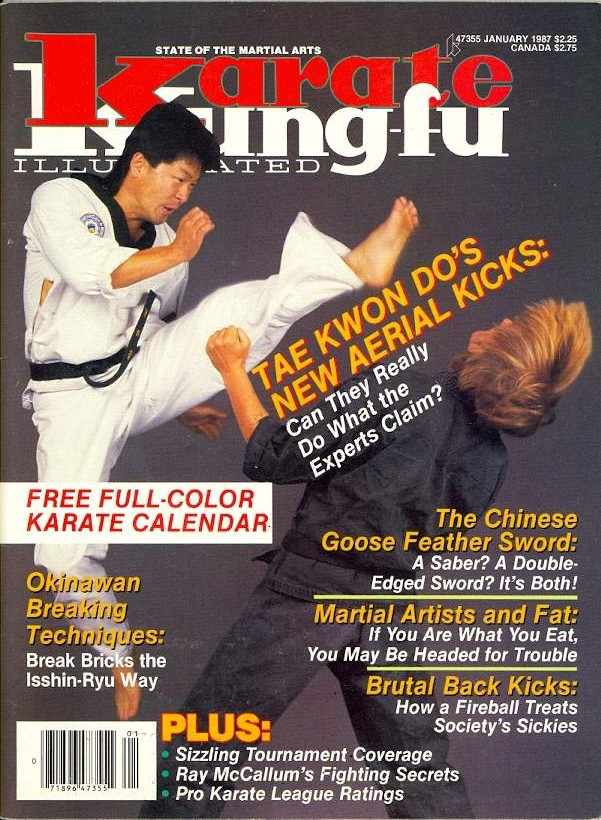 01/87 Karate Kung Fu Illustrated