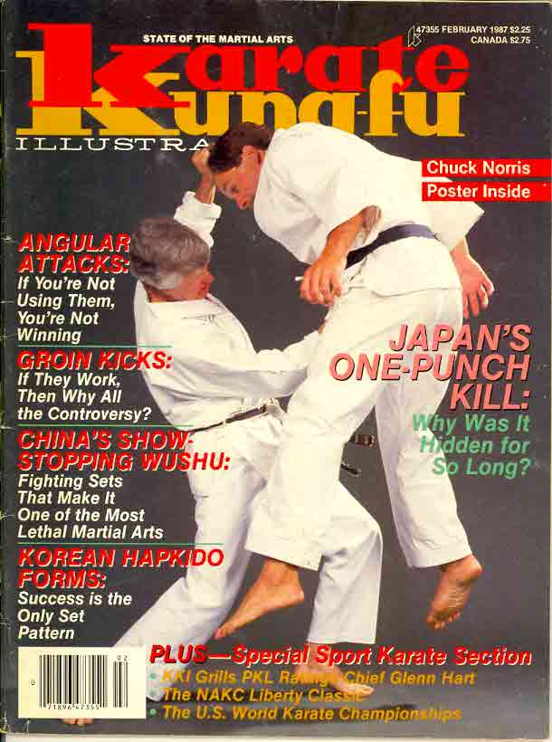 02/87 Karate Kung Fu Illustrated