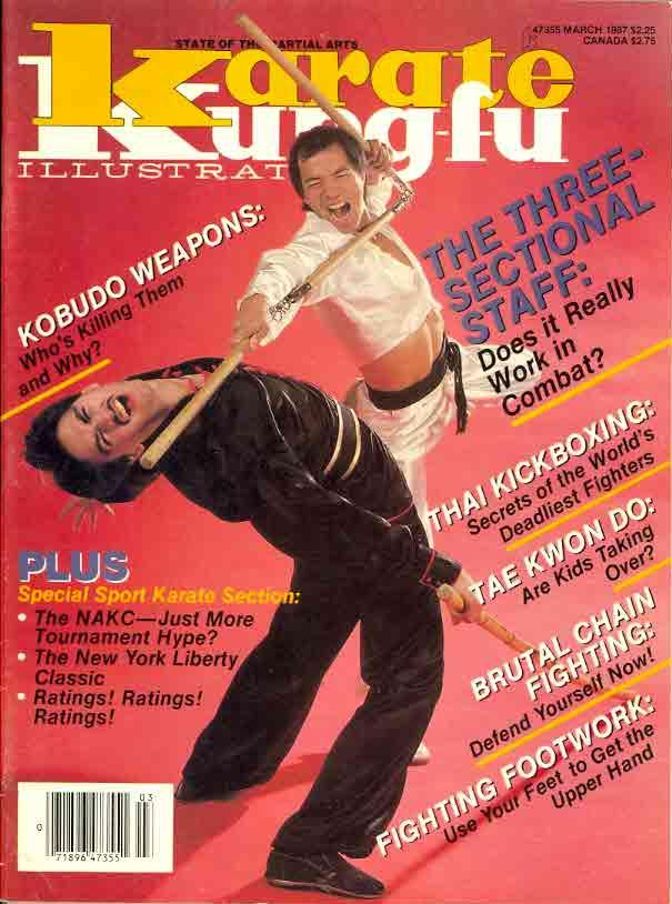 03/87 Karate Kung Fu Illustrated