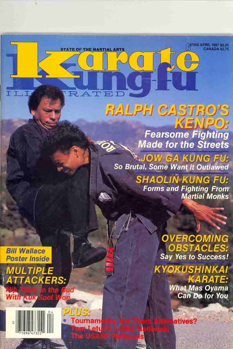 04/87 Karate Kung Fu Illustrated