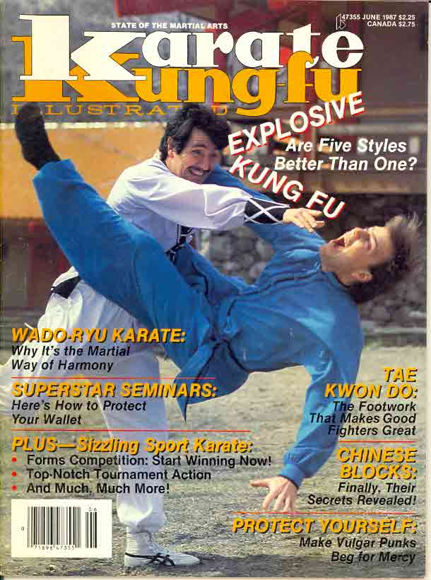 06/87 Karate Kung Fu Illustrated