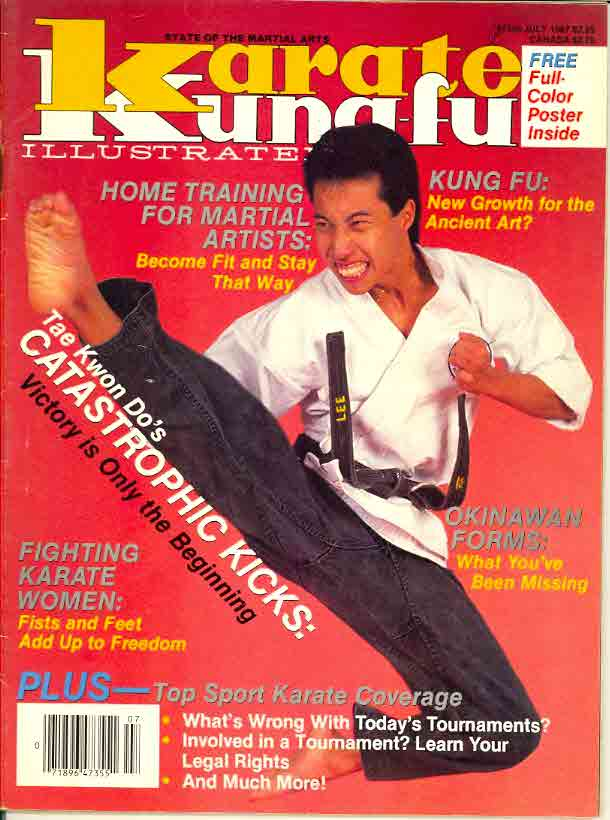 07/87 Karate Kung Fu Illustrated