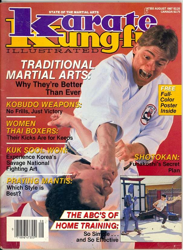 08/87 Karate Kung Fu Illustrated