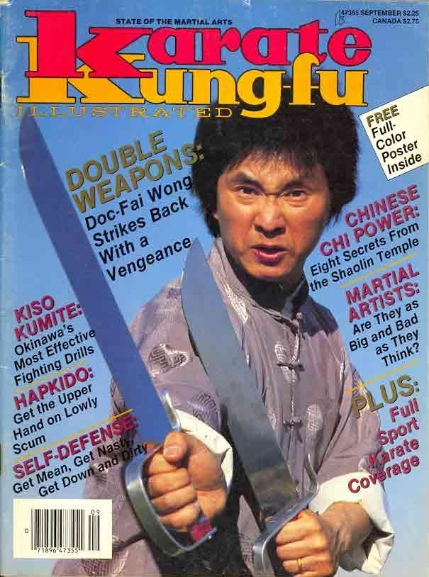 09/87 Karate Kung Fu Illustrated