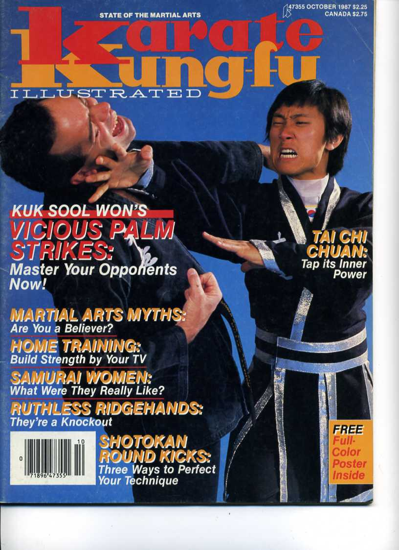 10/87 Karate Kung Fu Illustrated