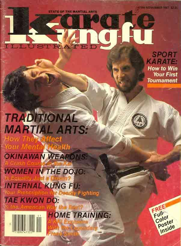 11/87 Karate Kung Fu Illustrated