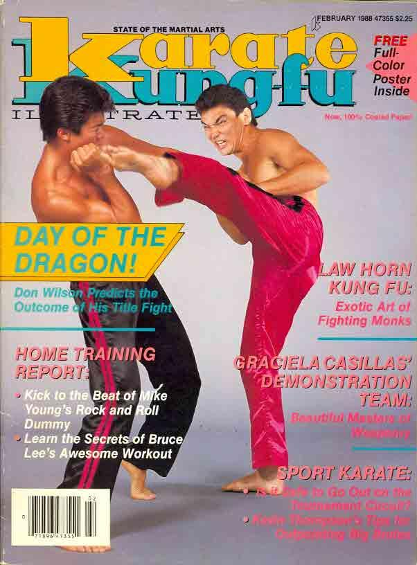 02/88 Karate Kung Fu Illustrated