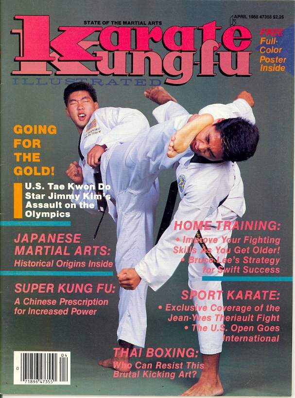 04/88 Karate Kung Fu Illustrated