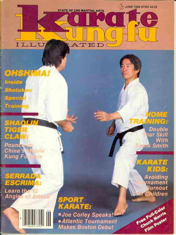 06/88 Karate Kung Fu Illustrated