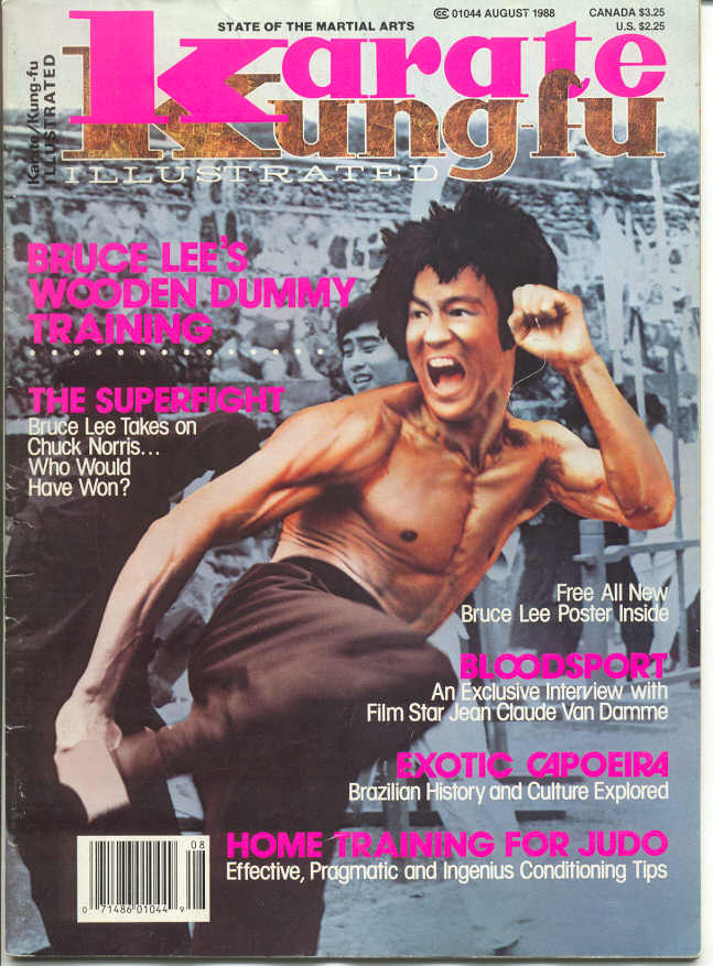 08/88 Karate Kung Fu Illustrated