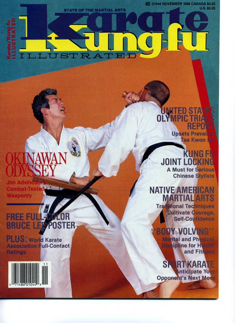 11/88 Karate Kung Fu Illustrated